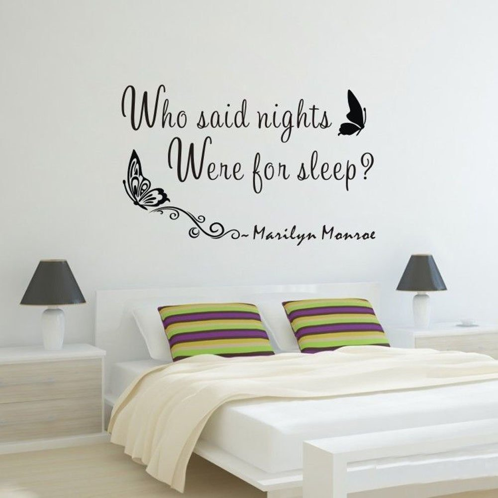 Marilyn Monroe Quote WHO Said Nights